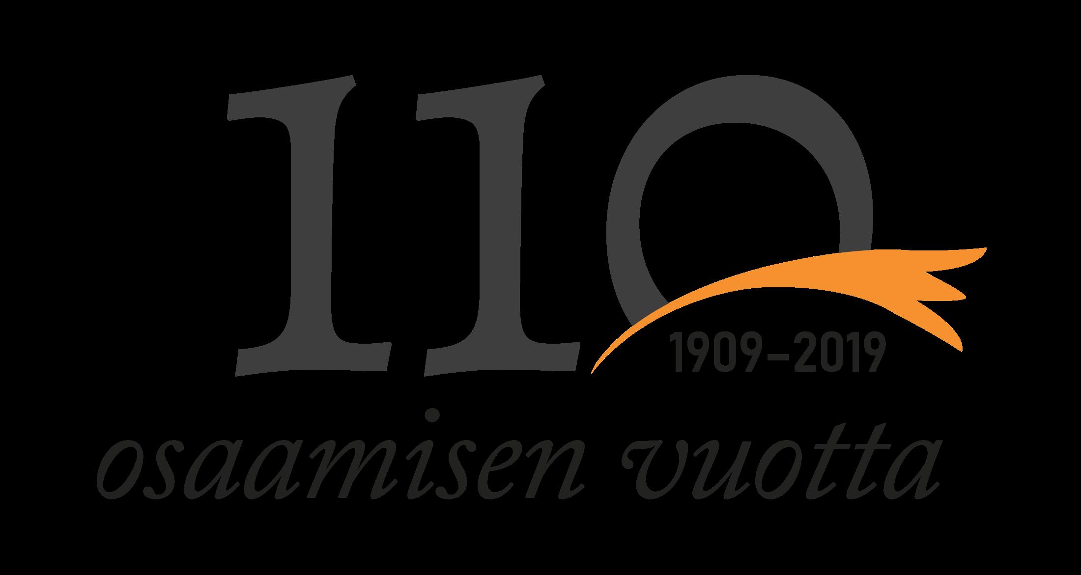 110 osaamisen vuotta